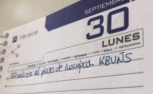 Ampliado el plazo de inscripción para los seminarios de KBUÑS al 30 de septiembre