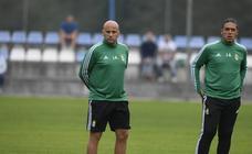 Primer entrenamiento de Javier Rozada con el Real Oviedo