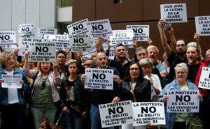 Un centenar de personas respaldan a los acusados por las protestas en El Reconquista, que ven «denuncias falsas»