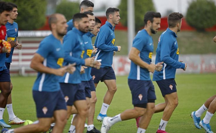 Entrenamiento del Sporting (16-09)