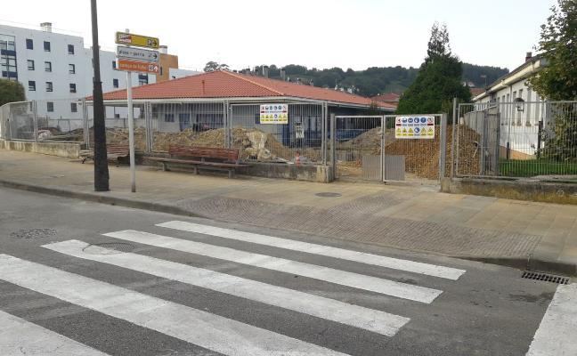Protestas por la «falta de seguridad» en la escuela infantil de Luanco
