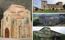 Veinte monumentos de Asturias en zona de peligro