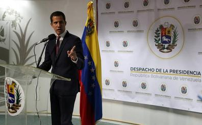 Guaidó califica de «irresponsable» el diálogo entre el Gobierno de Maduro y los partidos minoritarios