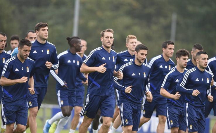 Entrenamiento del Real Oviedo (17/09/2019)
