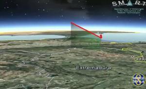 Una bola de fuego ilumina el cielo de Andalucía
