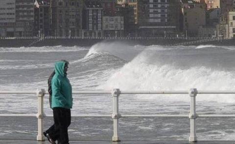 Asturias, en alerta amarilla por fuertes lluvias
