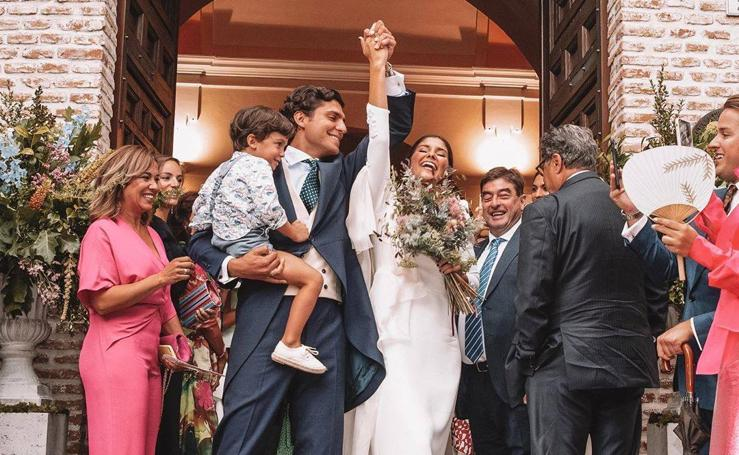 Así fue la espectacular boda de María de Jaime y Tomás Páramo