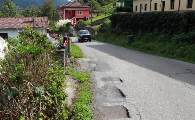 El PP denuncia el retraso en la licitación del arreglo de la carretera de Boo en Aller