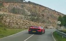 El tour que acabó con un Lamborghini estrellado en el Fitu
