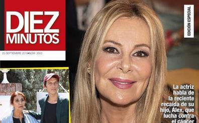 Ana Obregón se sincera tras la recaída de su hijo, Álex