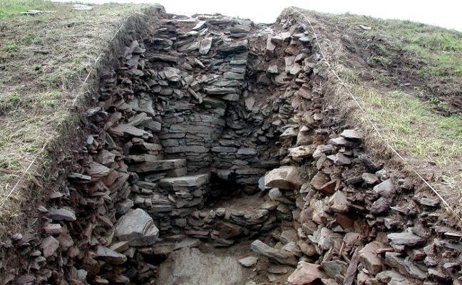 Hubo vida antes de los romanos en el castro Cabo Blanco
