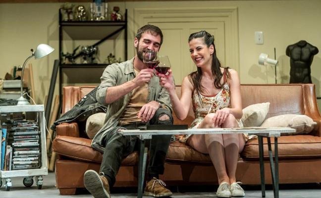 «'Mandíbula afilada' es una comedia romántica con ironía»