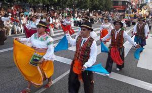 Samba y culines para el Día de América en Asturias