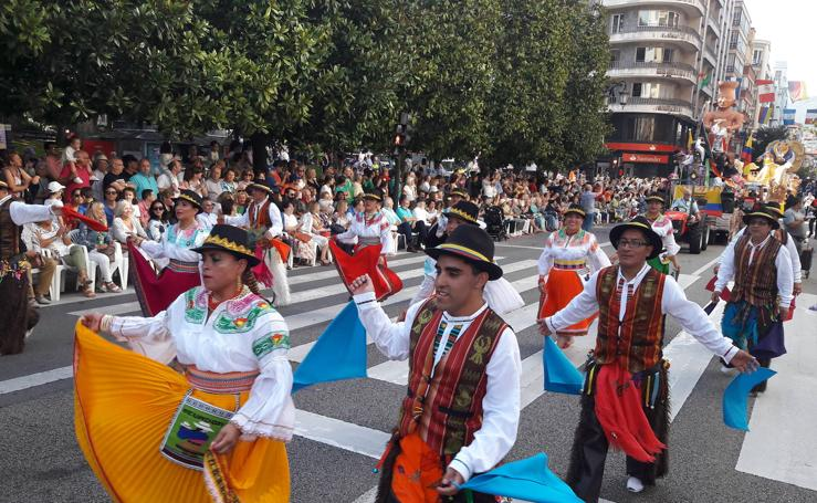 Las mejores fotos del desfile del Día de América en Asturias