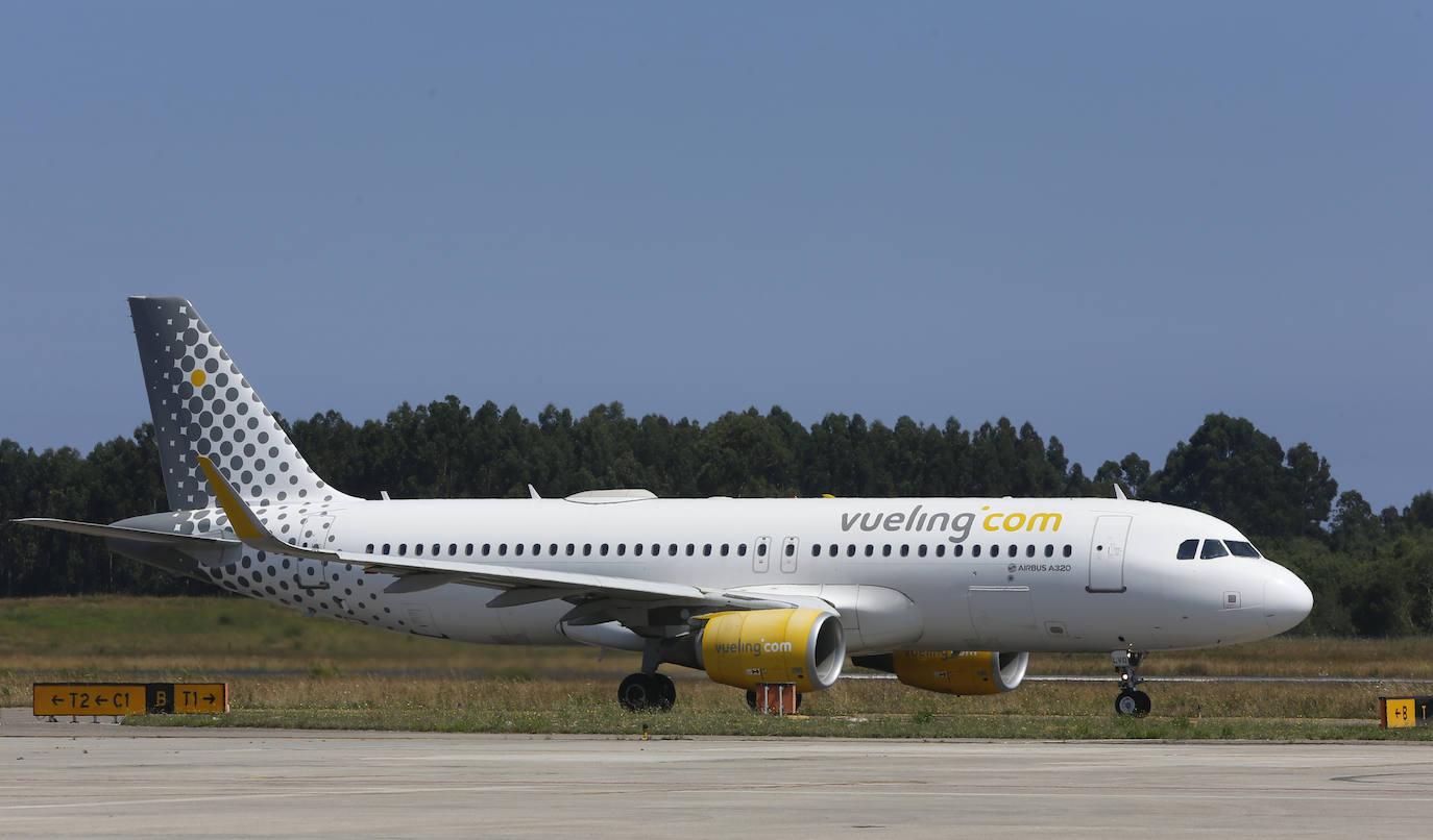 Vueling cancela el vuelo Asturias-Sevilla «por seguridad»