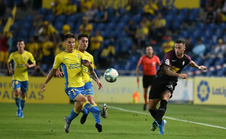 Derrota del Sporting en Canarias