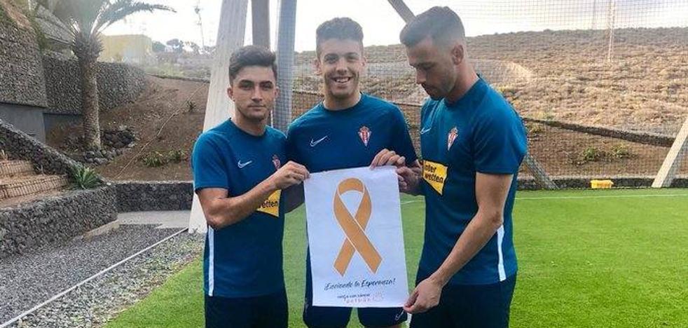 Manu García, Damián Pérez y Pablo Pérez, tocados tras el partido de Las Palmas