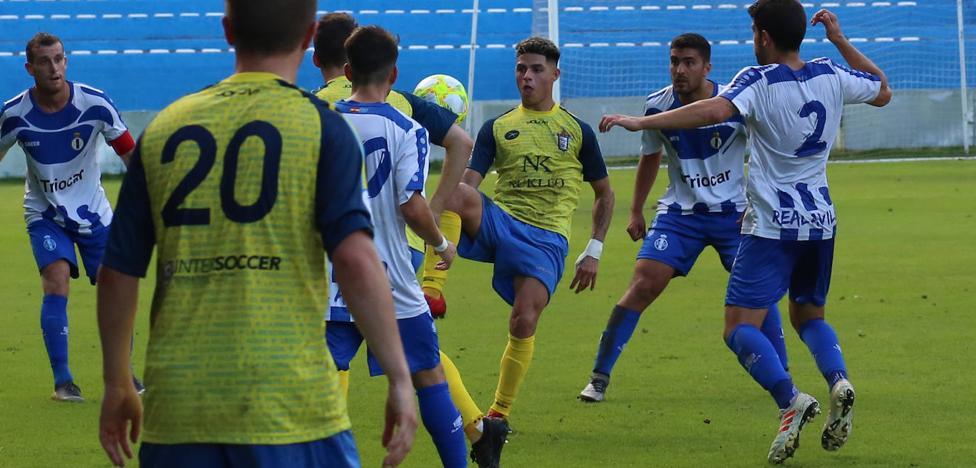 Borja Granda evita la derrota del Avilés ante el San Martín (2-2)