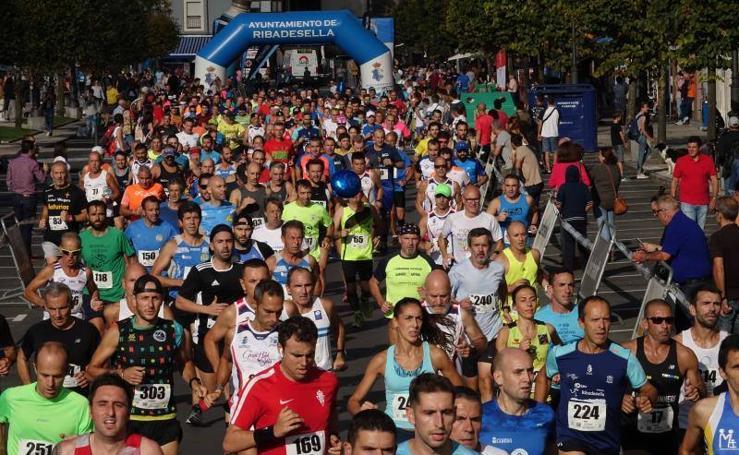 Más de 300 corredores en los 10 kilómetros de Ribadesella