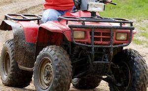 Fallece un vecino de Villameri, en Riosa, tras caer con su quad por un barranco