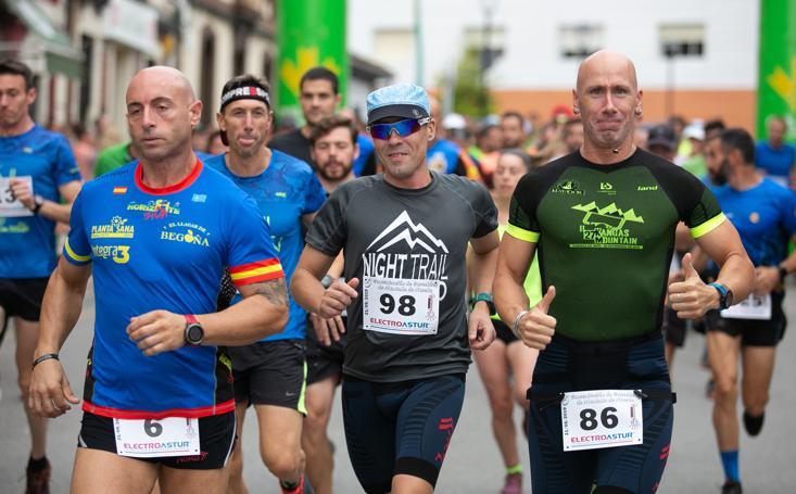 Los corredores de montaña se dan cita en Noreña