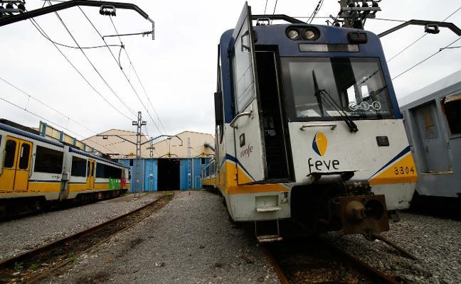 Feve cancela en Asturias el doble de trenes que en León, Galicia, Cantabria y País Vasco juntos