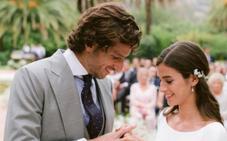 Feliciano López y Sandra Gago publican las primeras imágenes de su boda