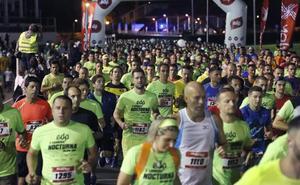Fotos. ¿Estuviste en la EdP Carrera Nocturna Gijón 10K? ¡Búscate!