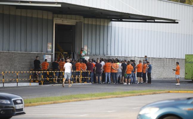 Los trabajadores de Vesuvius llaman a la movilización