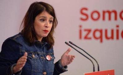 Adriana Lastra: «El PSOE no está preocupado por que el partido de Errejón concurra a las elecciones»