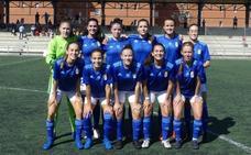Reparto de puntos entre Real Oviedo B y Gijón FF y derrota rojiblanca
