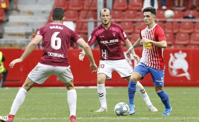 Sporting | Manu García sube al ataque