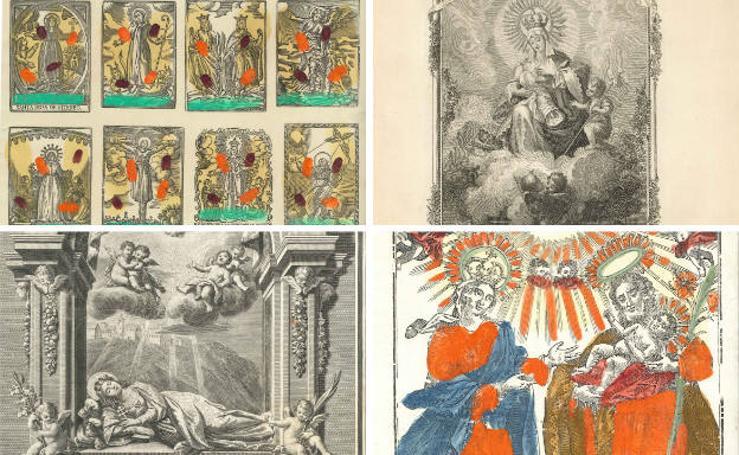 Grabados mágicos en el Museo del Pueblo de Asturias
