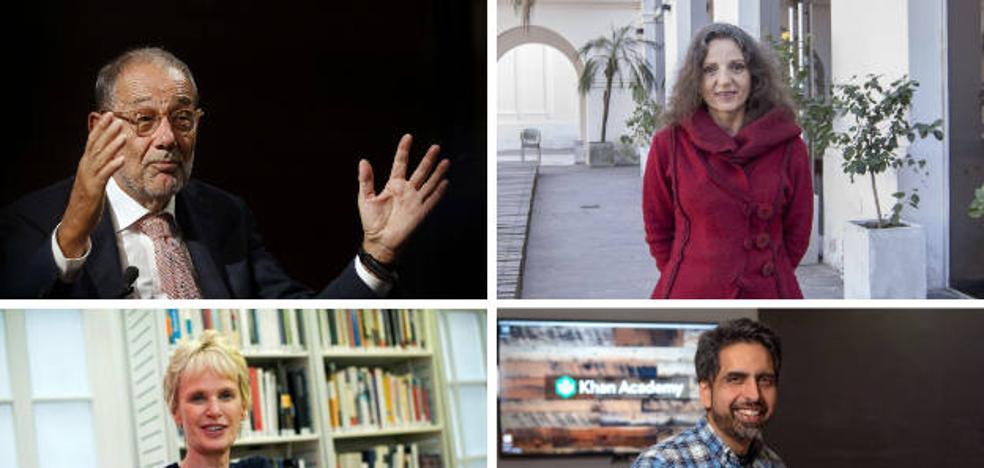 Siri Hustvedt, Sandra Myrna Díaz, Salman Khan y Javier Solana darán los discursos de los Premios Princesa