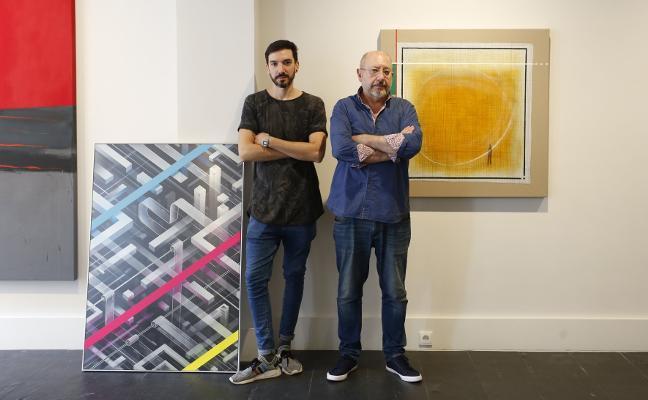 Dos artistas con denominador común