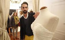 Un vestido con esencia asturiana
