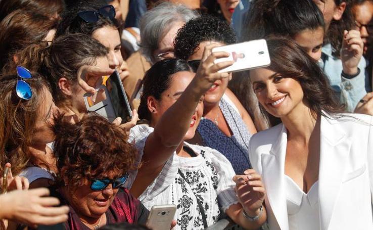 Penélope Cruz brilla en San Sebastián