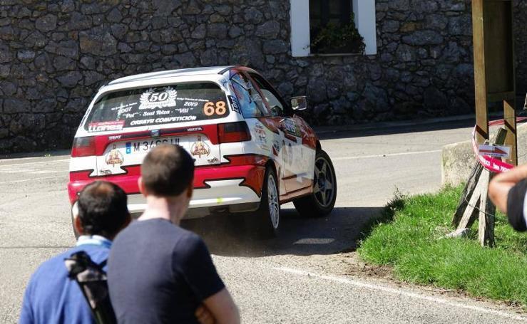 Las mejores imágenes del Rally de Llanes