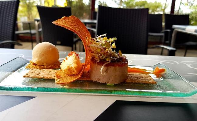 'La ola' del restaurante La Dársena, Tapa Reina 2019