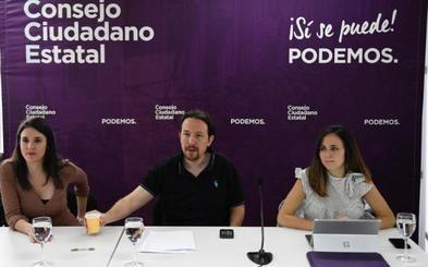 Iglesias anticipa su campaña más dura contra Sánchez y Errejón