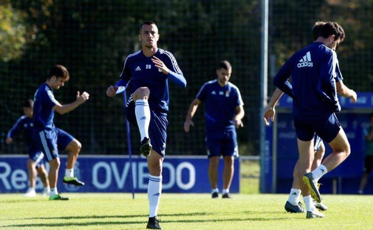 Entrenamiento del Real Oviedo (28/09)