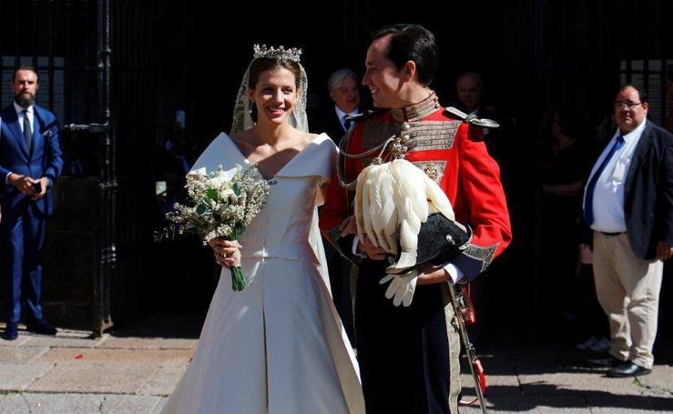 Livia Allende Quijano y Miguel Lasso de la Vega, boda por todo lo alto en la Catedral de Oviedo