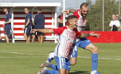 El Sporting B se reconcilia con la victoria (1- 0)