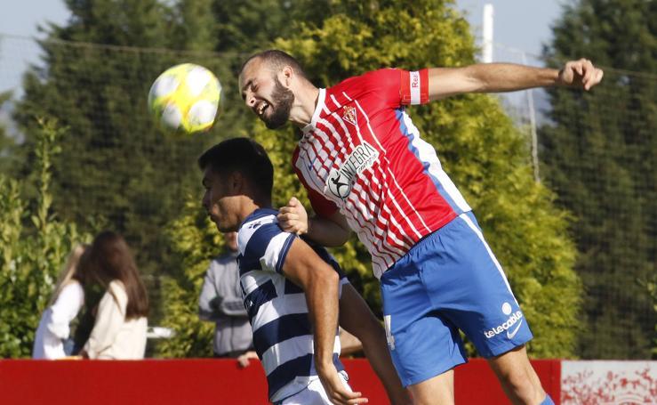 Sporting B 1 - 0 Internacional de Madrid, en imágenes