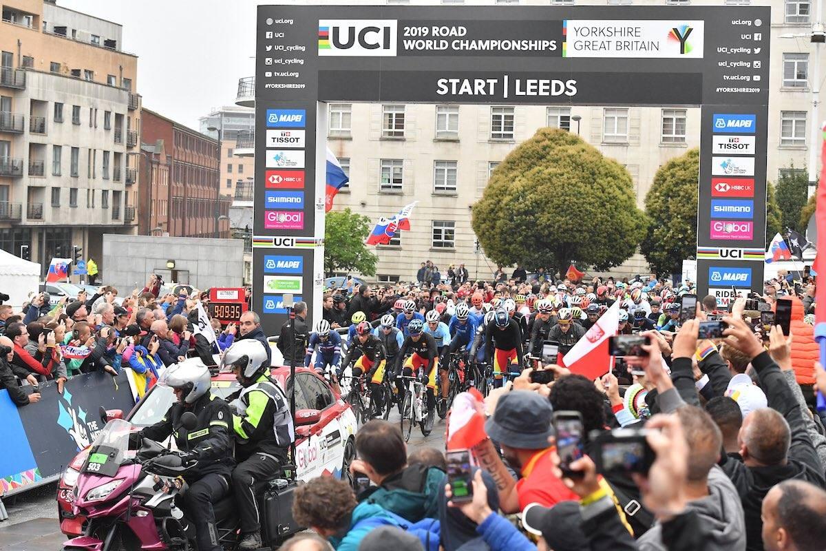 El danés Mads Pedersen, campeón del mundo en Yorkshire
