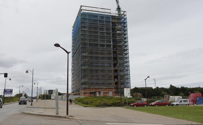 El efecto del PGO dispara la construcción en el primer semestre con 544 viviendas nuevas en Gijón