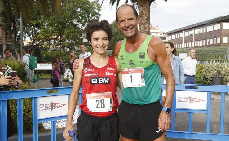 Julio César Álvarez e Irene Loizate se imponen en la Santa Olaya-Grupo