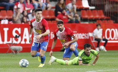 El Sporting arrolla al Almería (4 - 2)