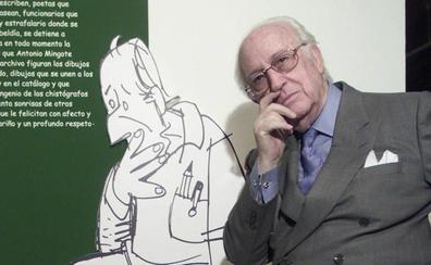 Los dibujos de Antonio Mingote serán los protagonistas de las IV Jornadas Cervantinas en Avilés