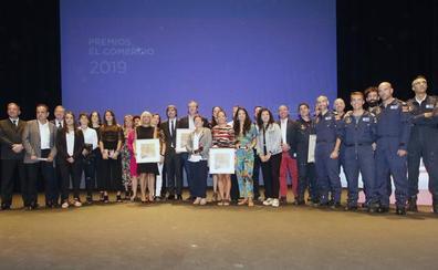 Embajadores de «los éxitos y los valores de Asturias»
